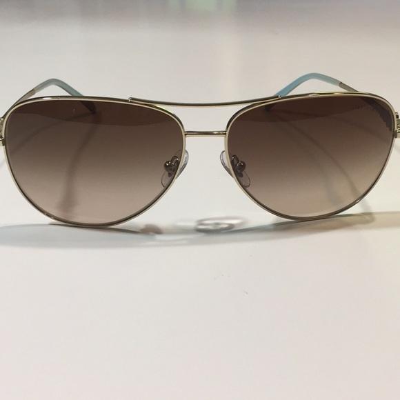7c22e7831f08 Tiffany   Co. Gold Aviator Pilot Sunglasses. M 5b1d13adde6f62c5d18dff77